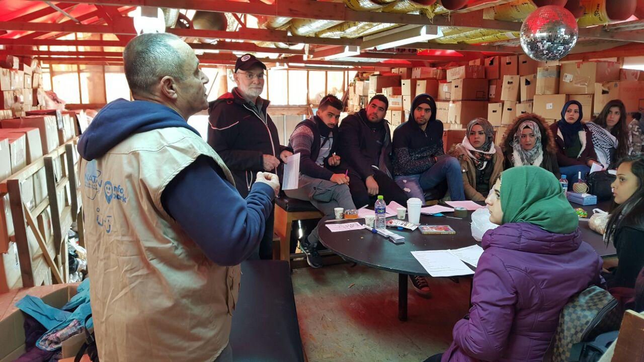 Train the Trainer,  Souda Refugee Camp, Chios Island, Greece