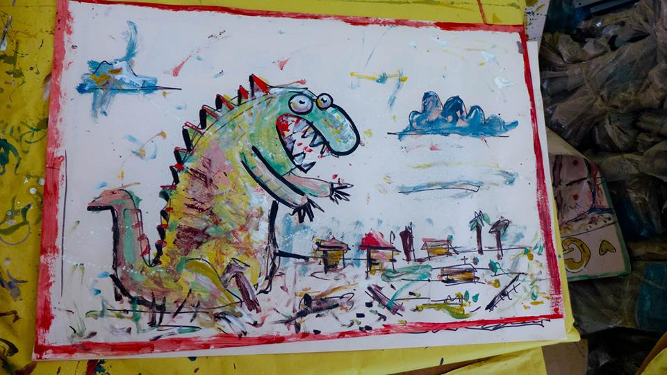 Monster: Children's Art Project, Philippines
