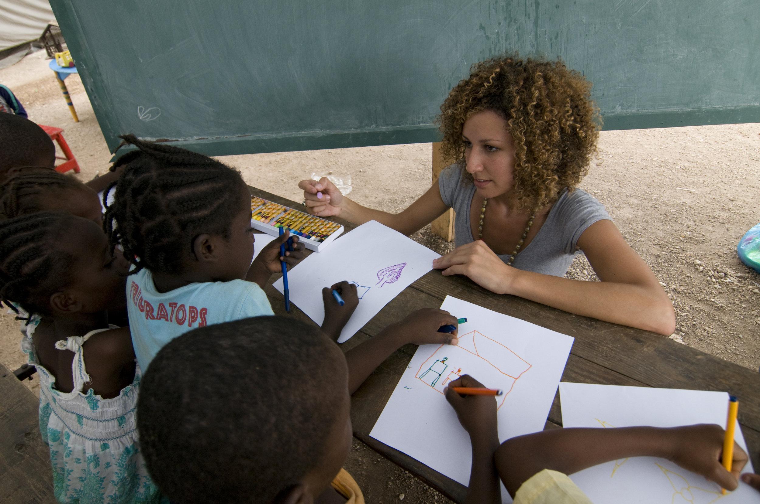 Children's Art Project, Haiti Post Earthquake Relief