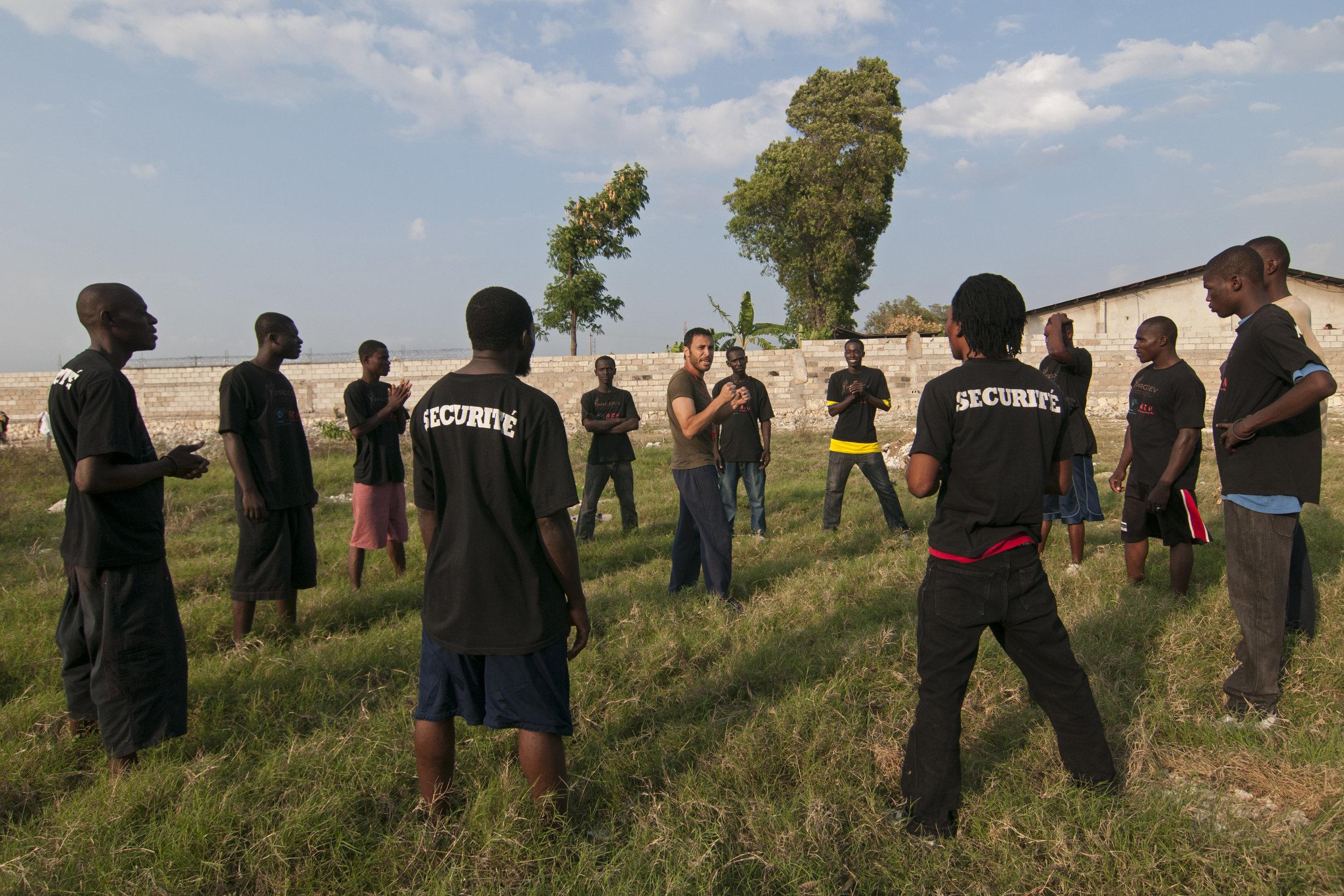 Physical Training, Haiti Post Earthquake Relief