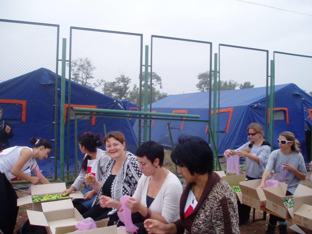 Georgia, Aid to Internal Refugees 2008