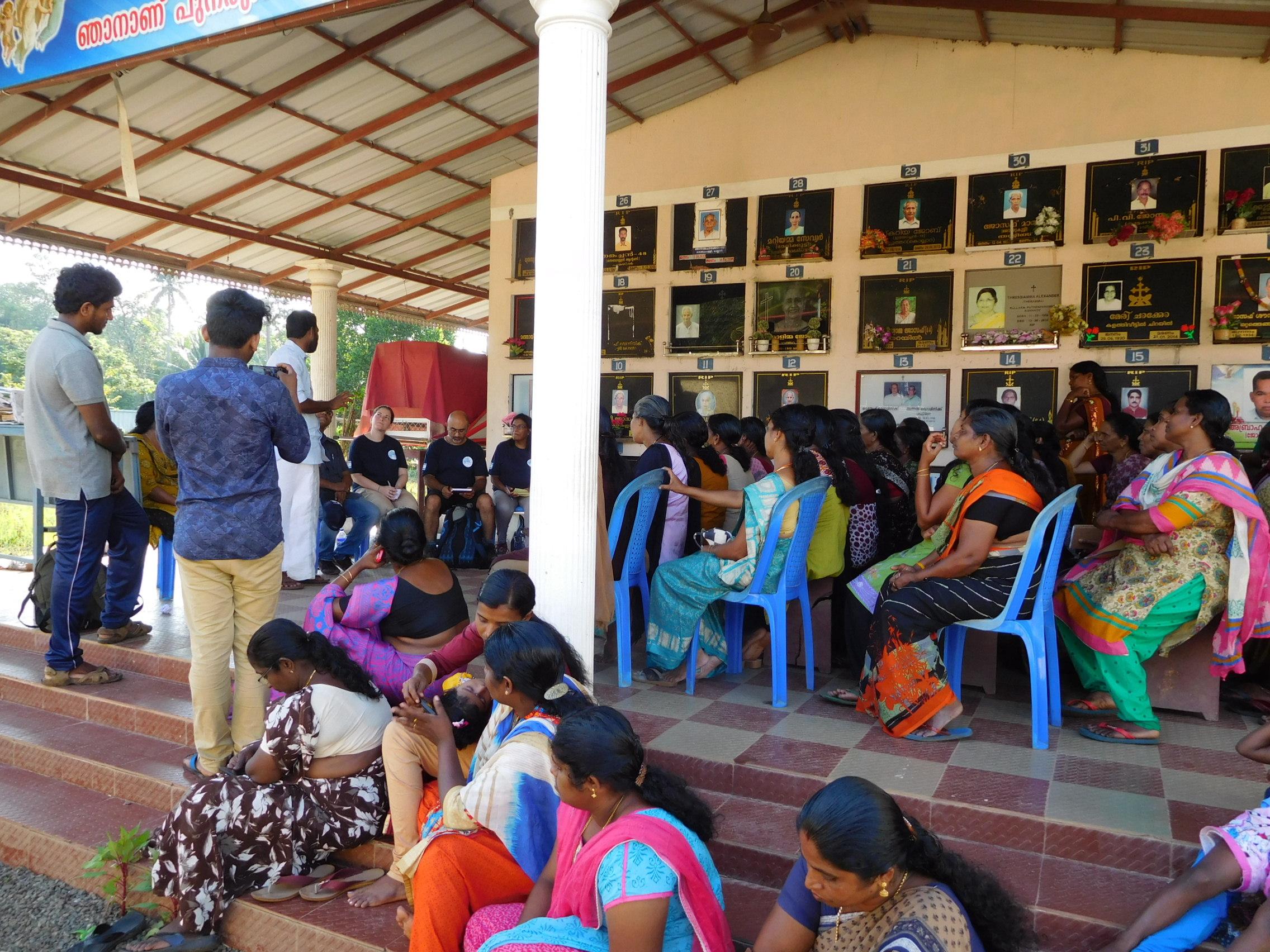 Meeting Residents - Kannadi Village