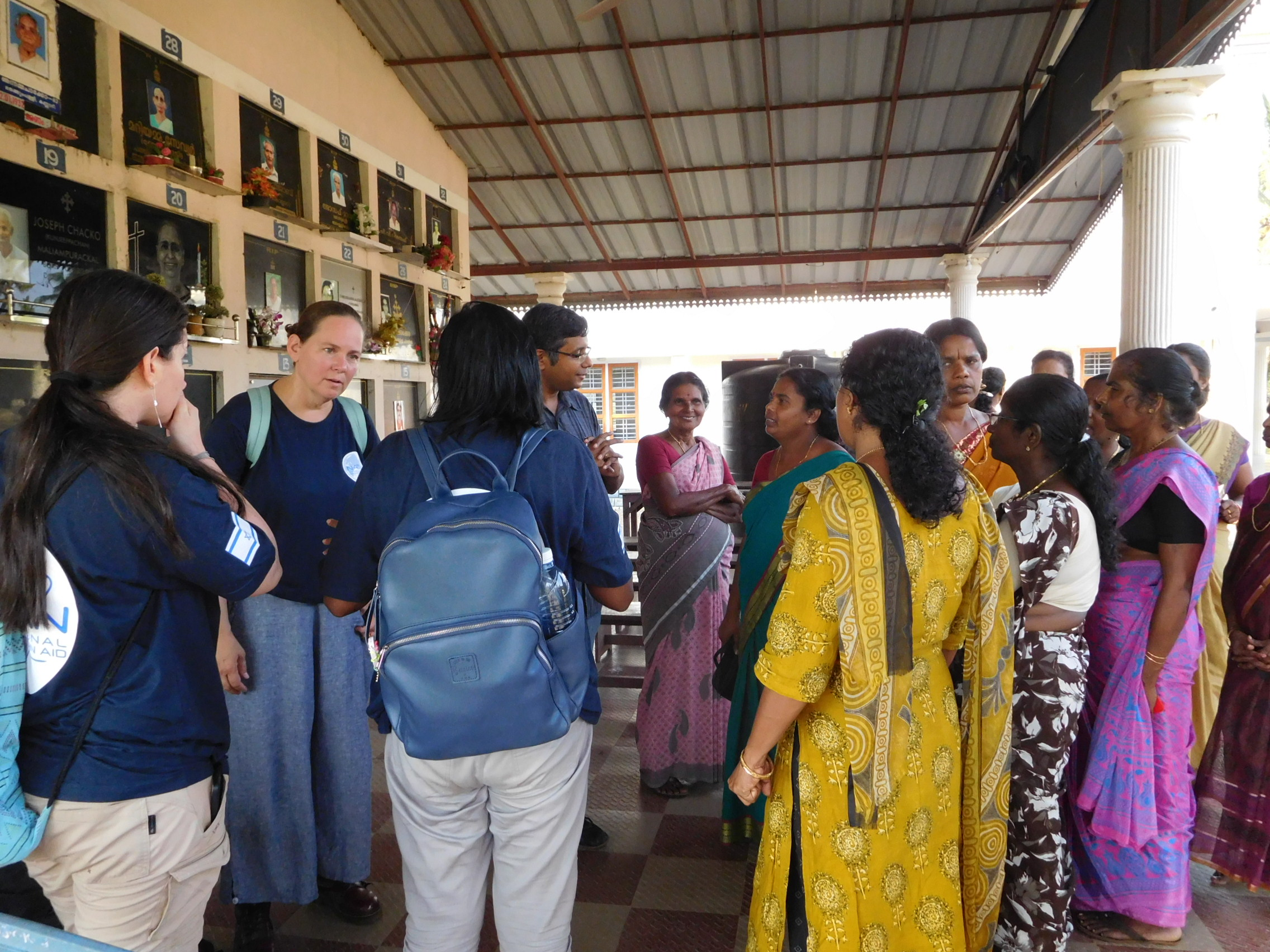 Kannadi Village Meeting Residents