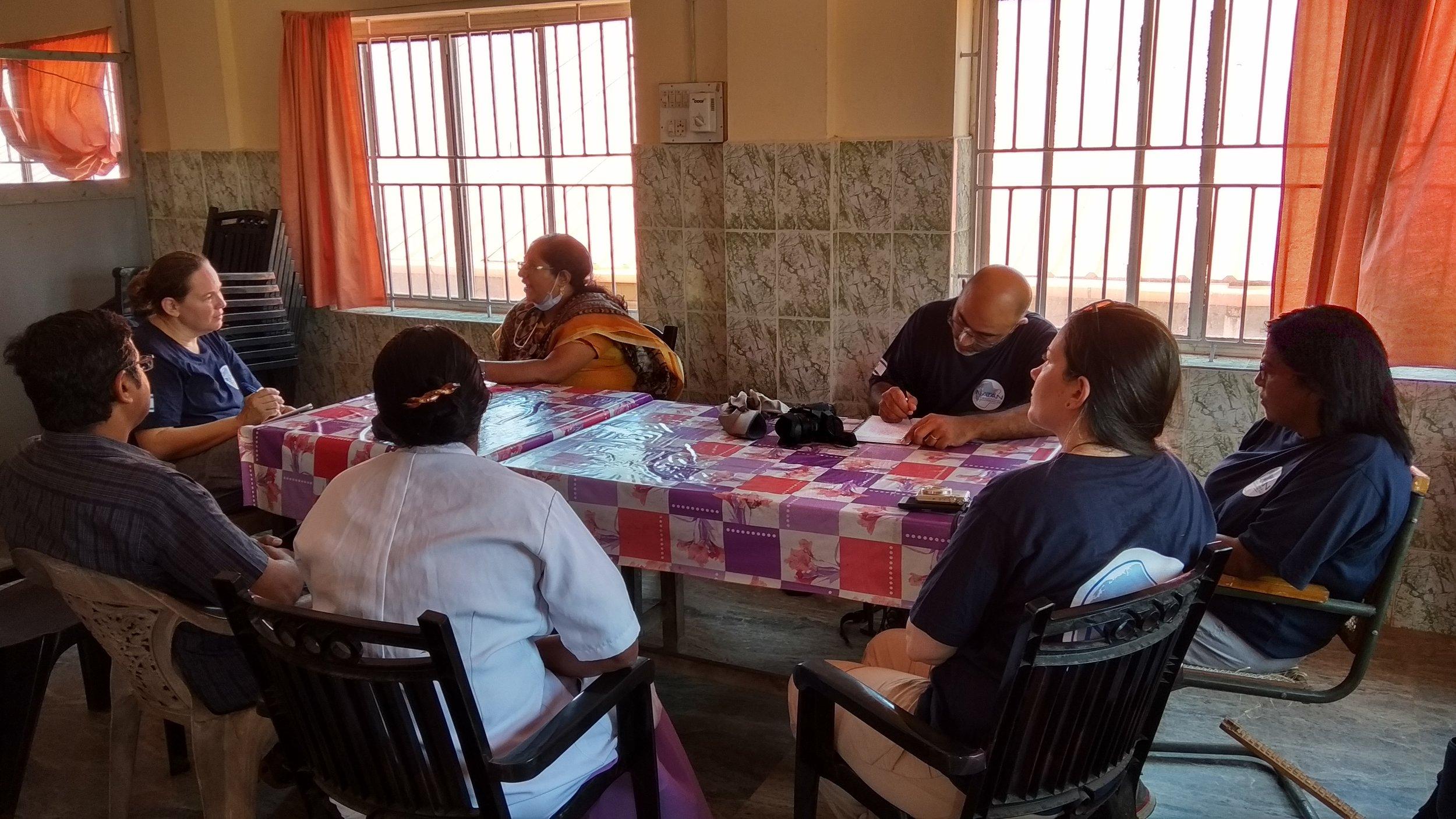 Kerala Assessment: Meeting at Taluk Hospital