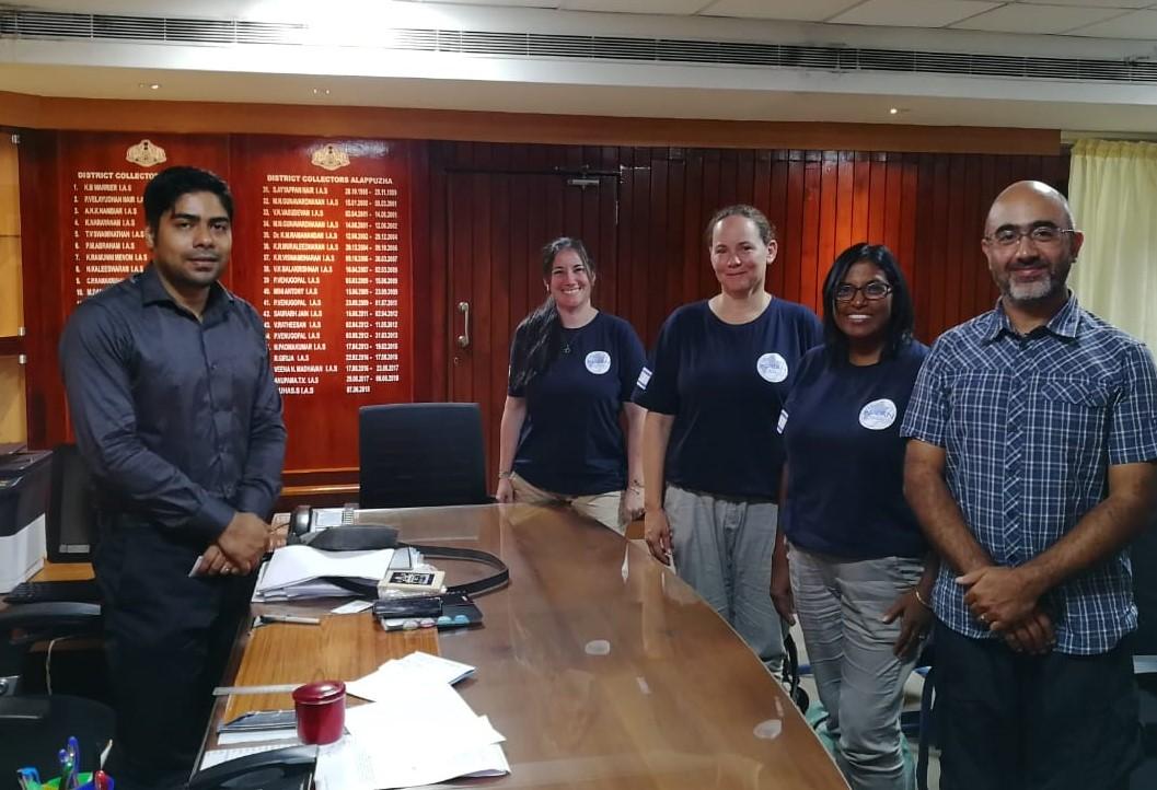 Meeting District Collector, Kerala