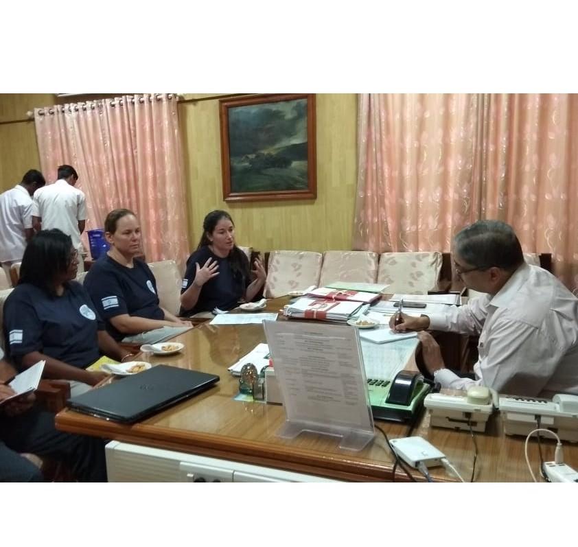 Meeting Addt'l Chief Secretary, Kerala