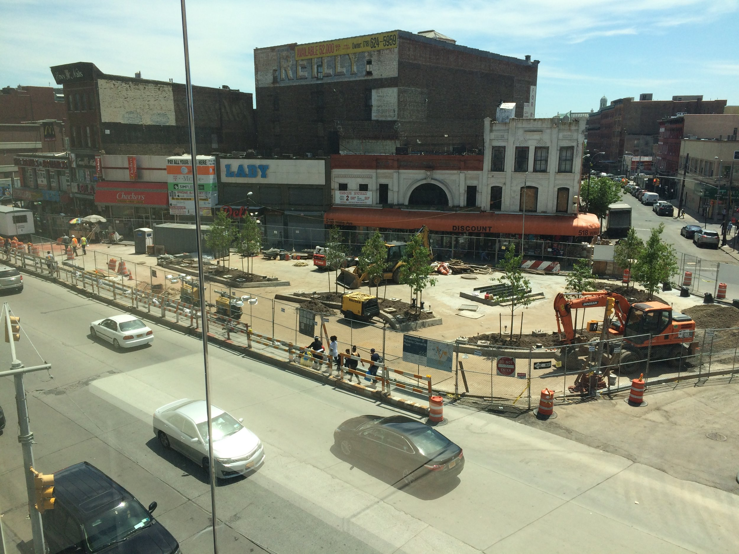 Roberto Clemente Plaza as of June 2017...