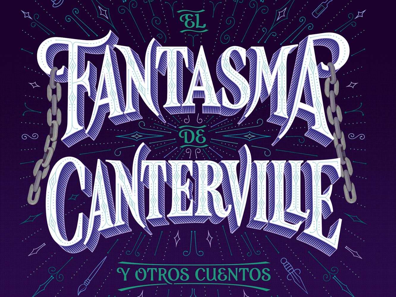 El Fantasma De Canterville. Book Cover