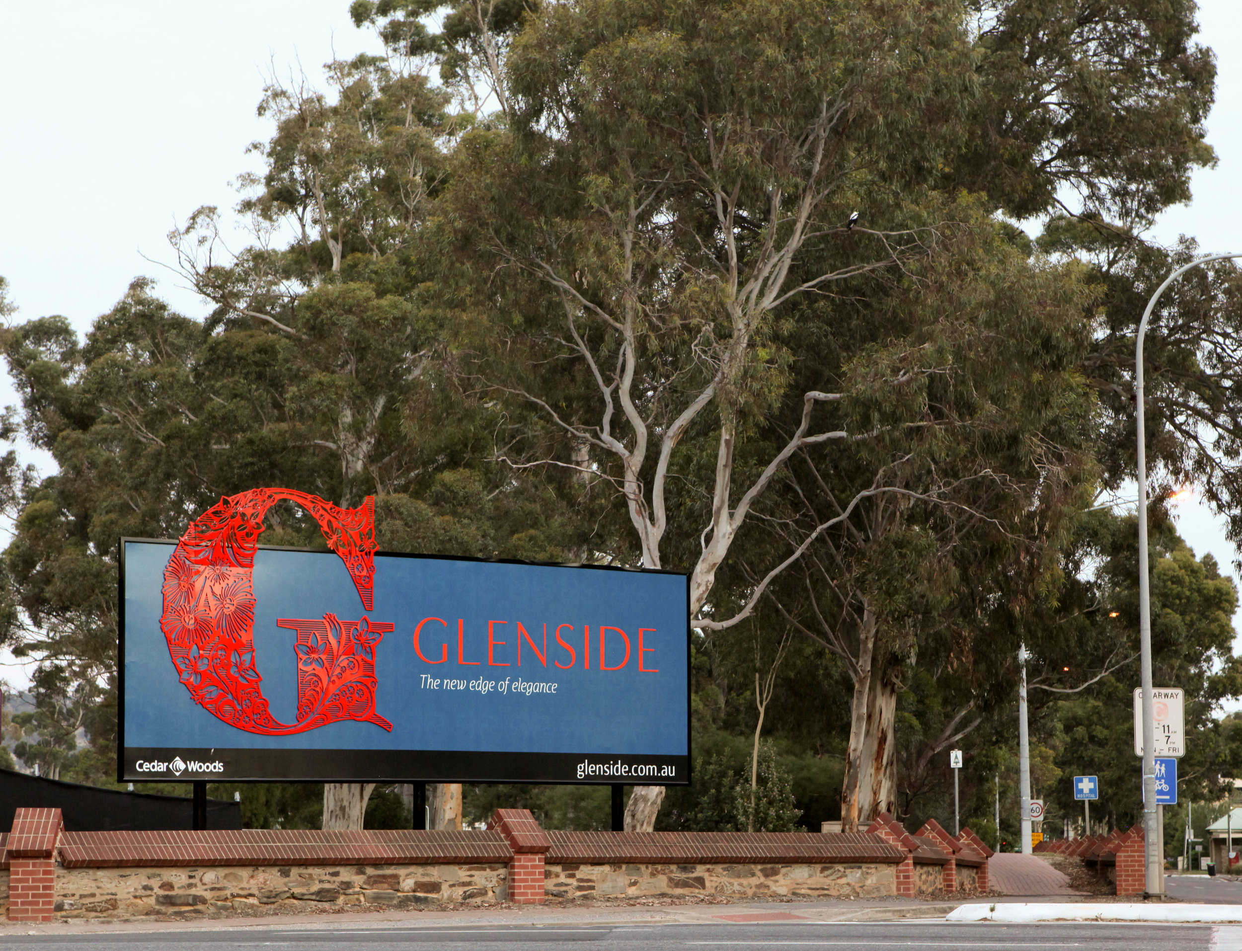 """""""Set among grand heritage architecture and botanical splendour, Glenside is a sophisticated new address in a unique botanical setting, bringing together the best that the east and the city has to offer."""""""