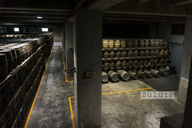 第一次見到存酒的庫,非常震撼!