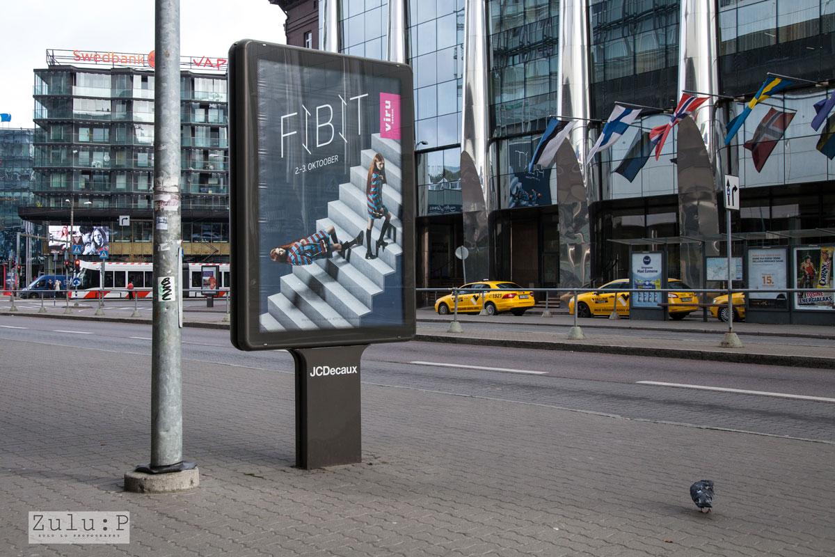 在塔林市區最常見的 Bill Board,亦是 Viru 的廣告。