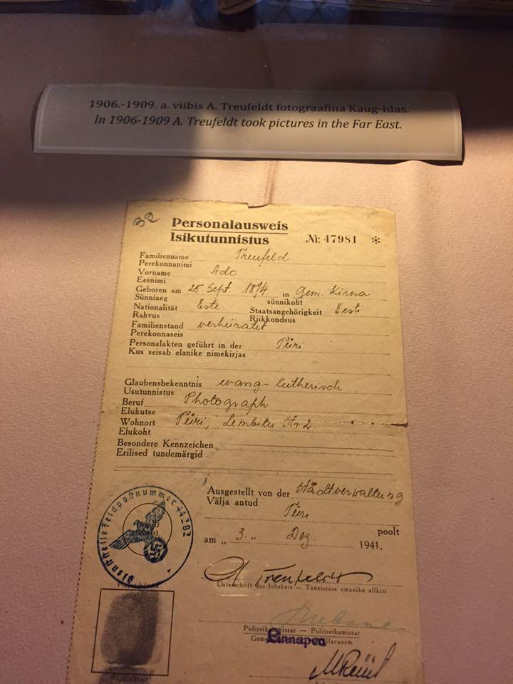 40 年代德國攝影師的身分証
