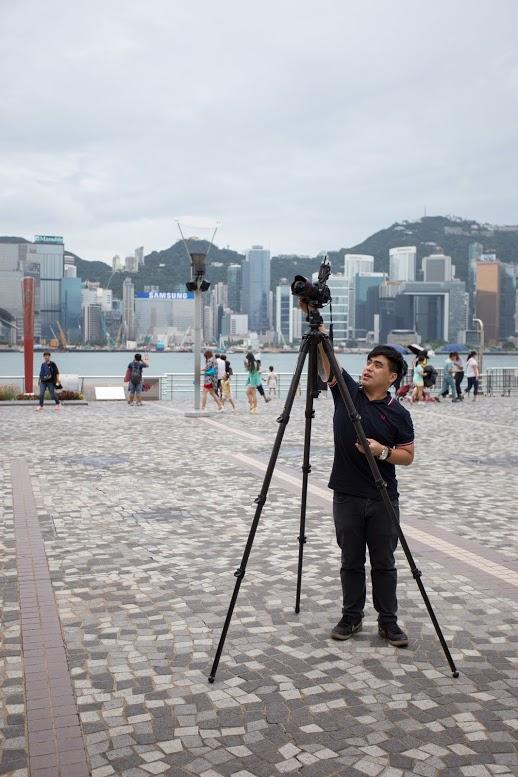 拍攝效果,相機放置於約 1.9 米,高我不少呢