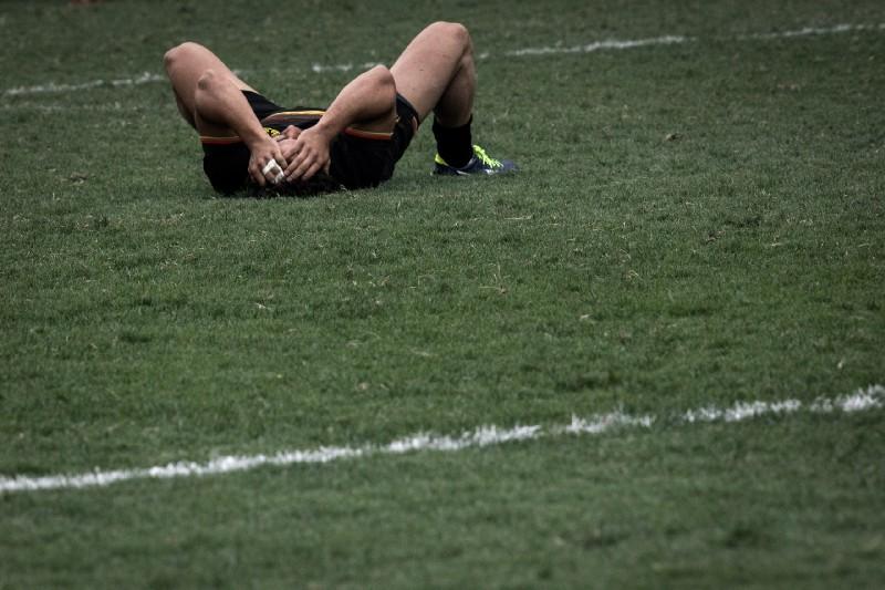 落敗的德國隊球員