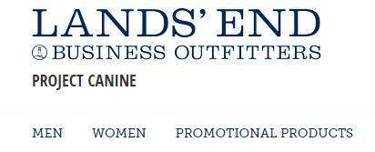 Click here to view Project Canine branded clothing by Land's End.