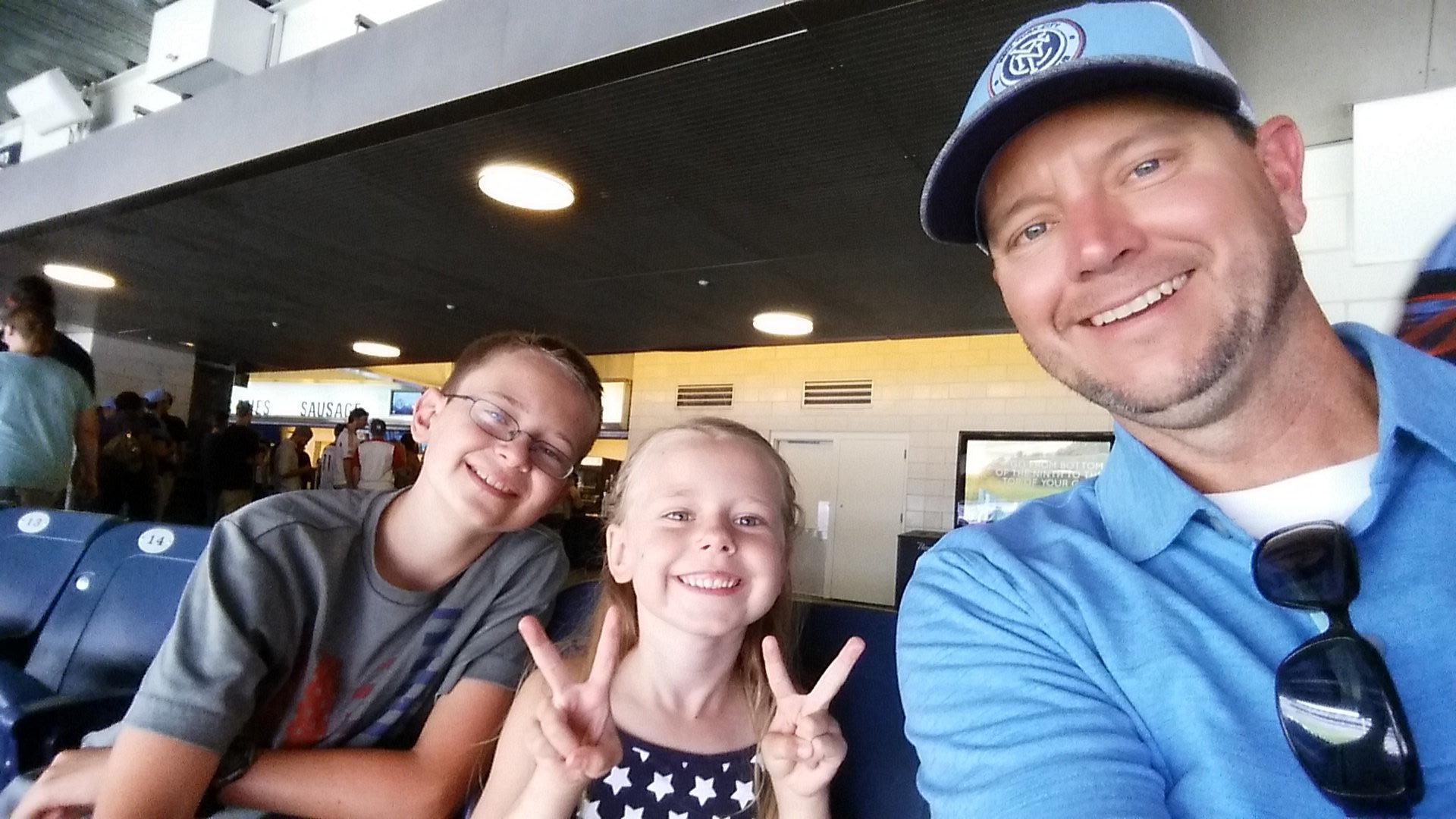 """"""" Thank you to the awesome donors who supplied the tickets for the NY Red Bulls vs NYCFC at Yankee Stadium last Sunday. It was a great time, and my family loved it! Very much appreciated and I am very grateful for your generosity."""" - US Navy Serviceman"""