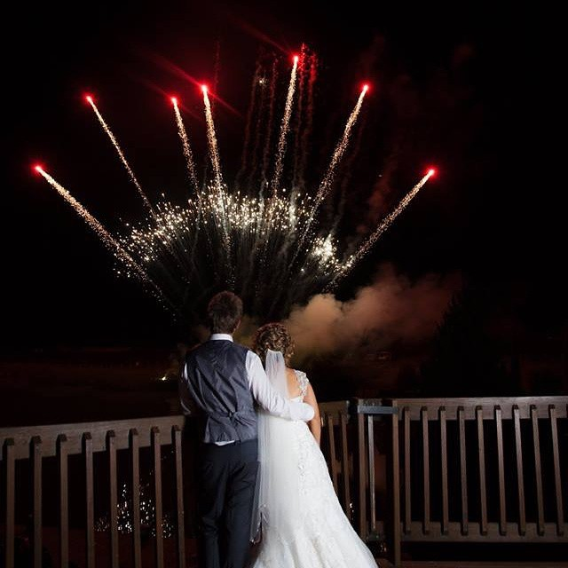 Blaso Pyrotechnics Outdoor Fireworks Couple Shot
