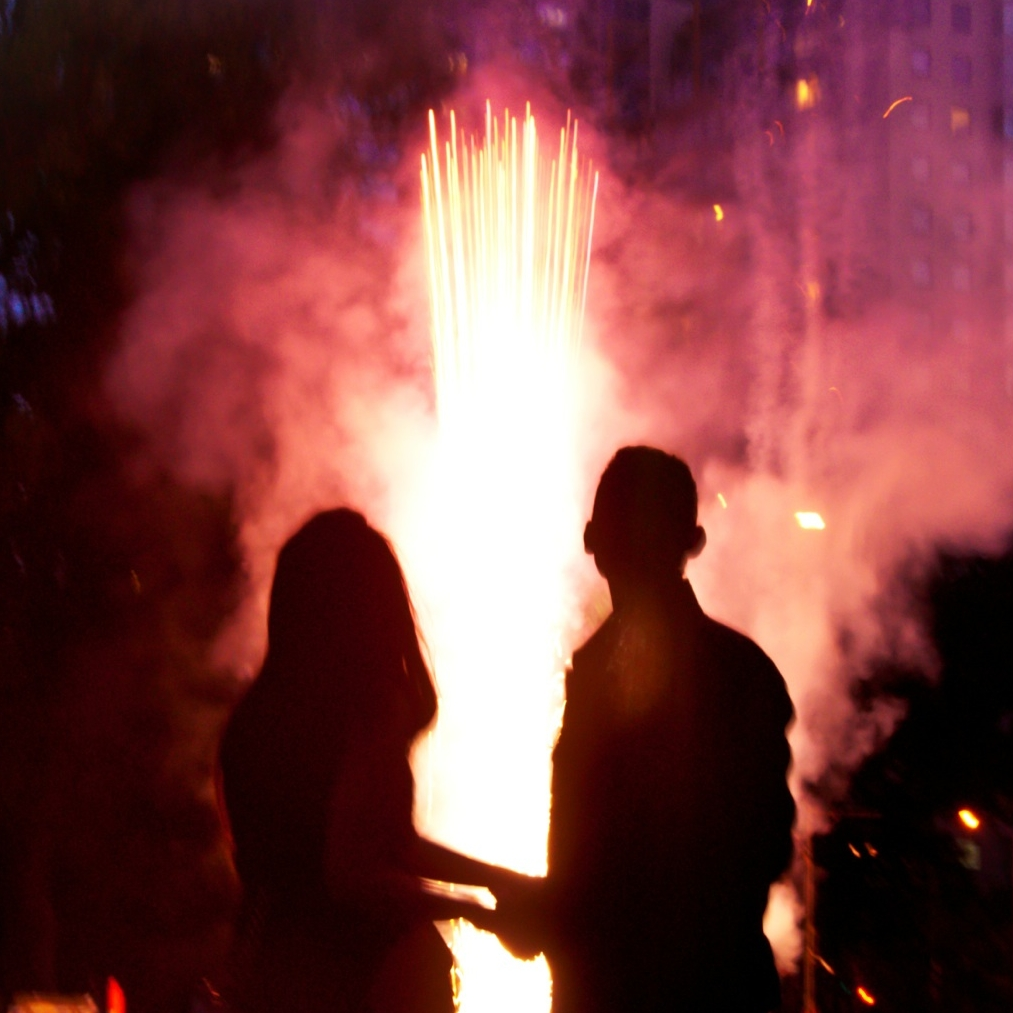 Blaso Pyrotechnics Wedding Fireworks Close Proximity Feature