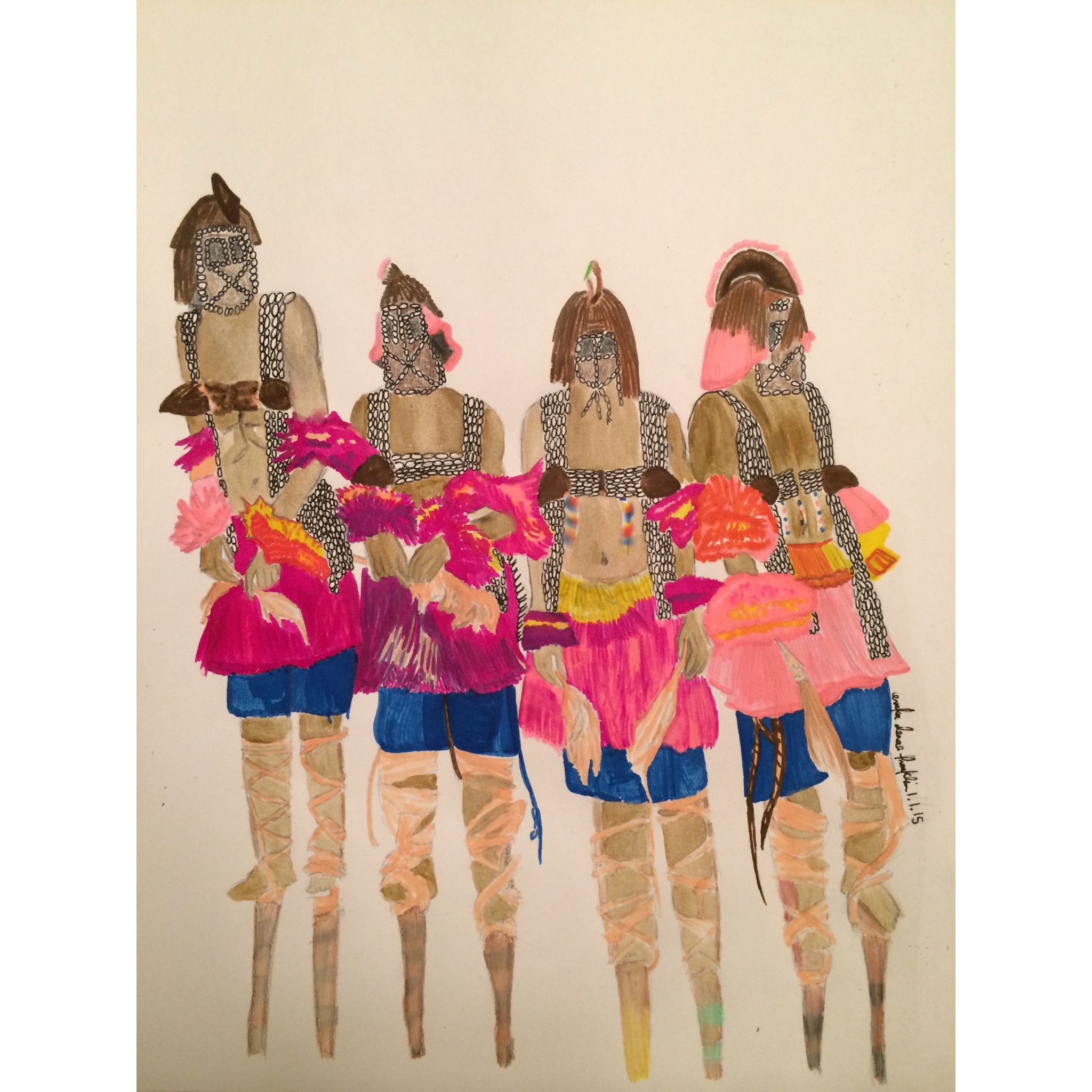 The Dogon Tribe