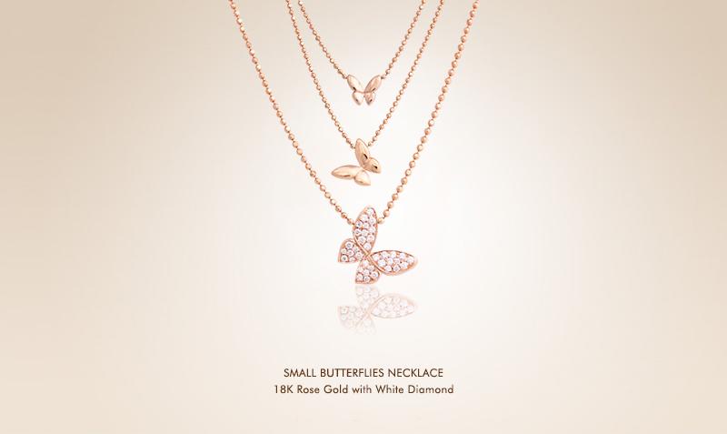 Small Butterflies Necklace RG.jpg