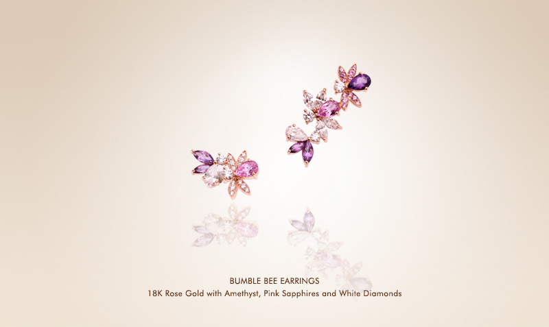 Purple Bumble Bee  Earrings.jpg