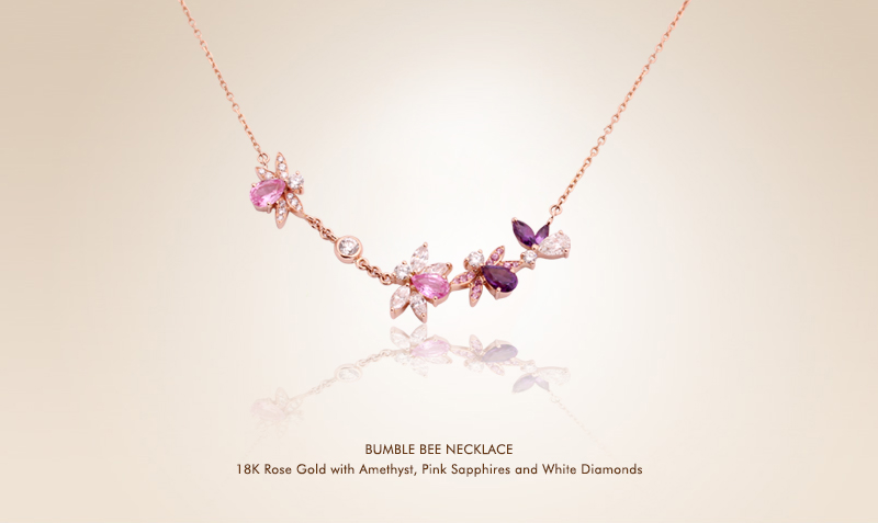 Purple Bumble Bee  Necklace.jpg