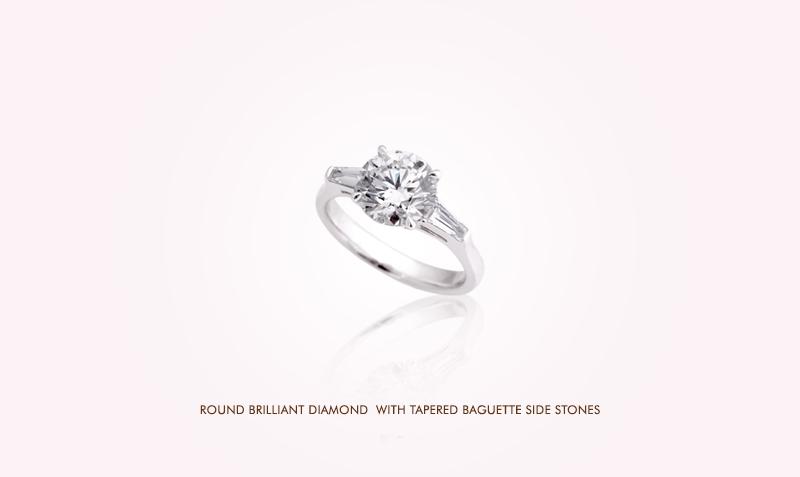 Diamond Ring with Tapper Baguette setting.jpg