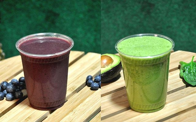 Pick your favorite healthy smoothie? Tropical Acai or Brain Stimulator! Craving them? Ask us about our catering service for breakfast!  #Smoothies #RuruKitchen #SanFRancisco #SanFranciscoEats #sanfranciscofood #organic #vegan #realfood #eatlocal #Catering #CateringSF