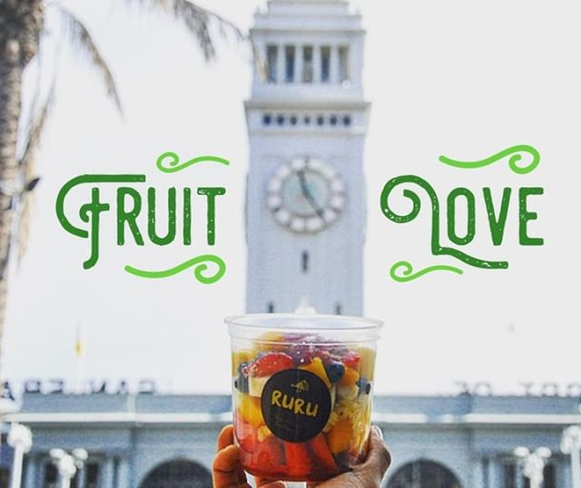More fruit? YESS PLEASE! At Ruru we looove using REAL ingredients. Nourish your body with our superfood bowls and smoothies. . . . .  #RuruKitchen #SanFRancisco  #SanFranciscoEats #sanfranciscofood #organic #vegan #realfood #eatlocal