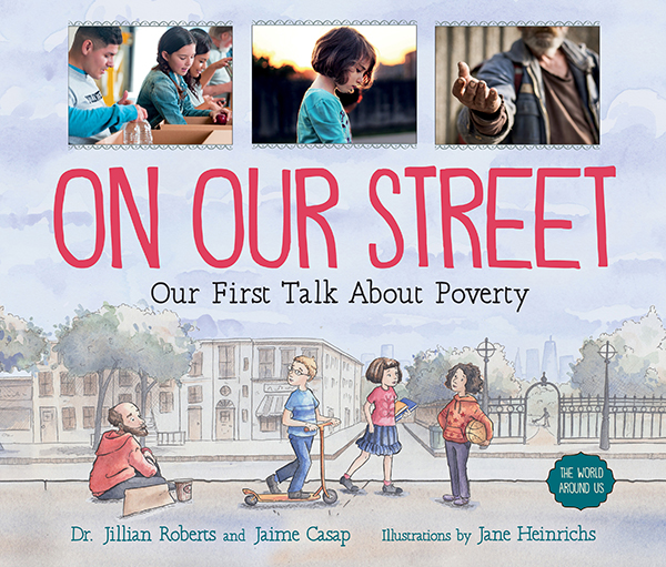 On Our Street Dr Jillian Roberts and Jaime Casap and Jane Heinrichs