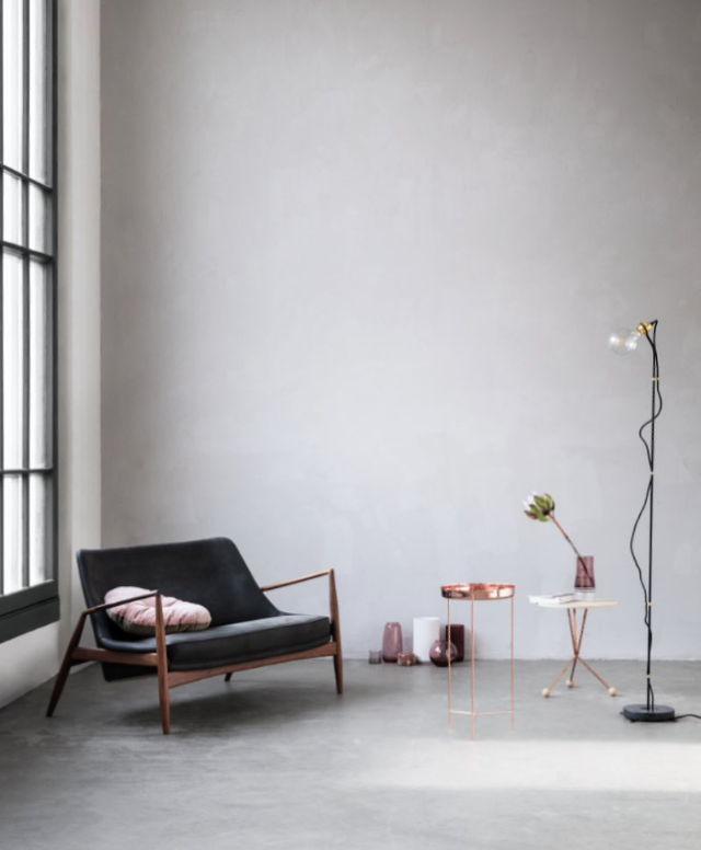 Five Floor Lamp - Black Marble // Photo by Brian Buchard and Styling Pernille Vest