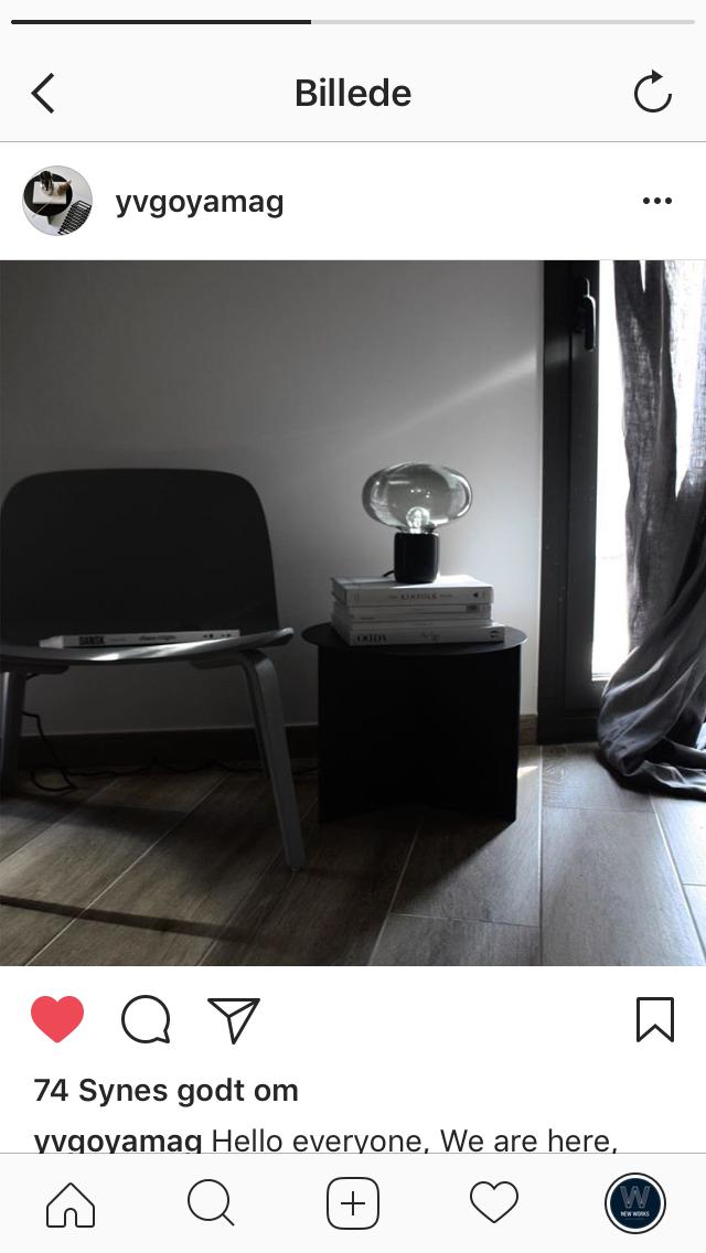 Karl-Johan Table Lamp // Photo by Yv Goya