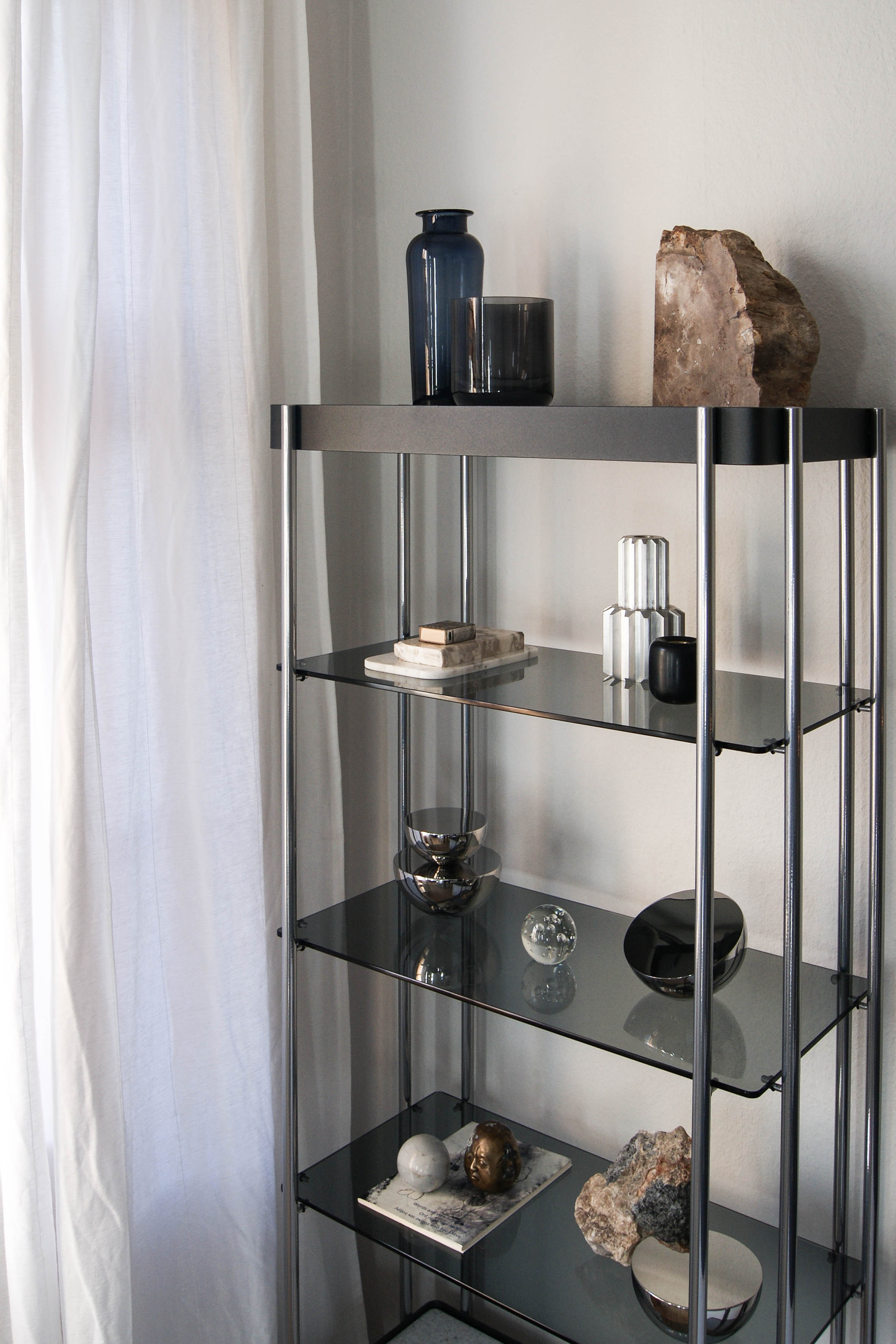 New Works Home Interior Styling Monique Consentinou Aura Table Mirror Balance Candle Holder