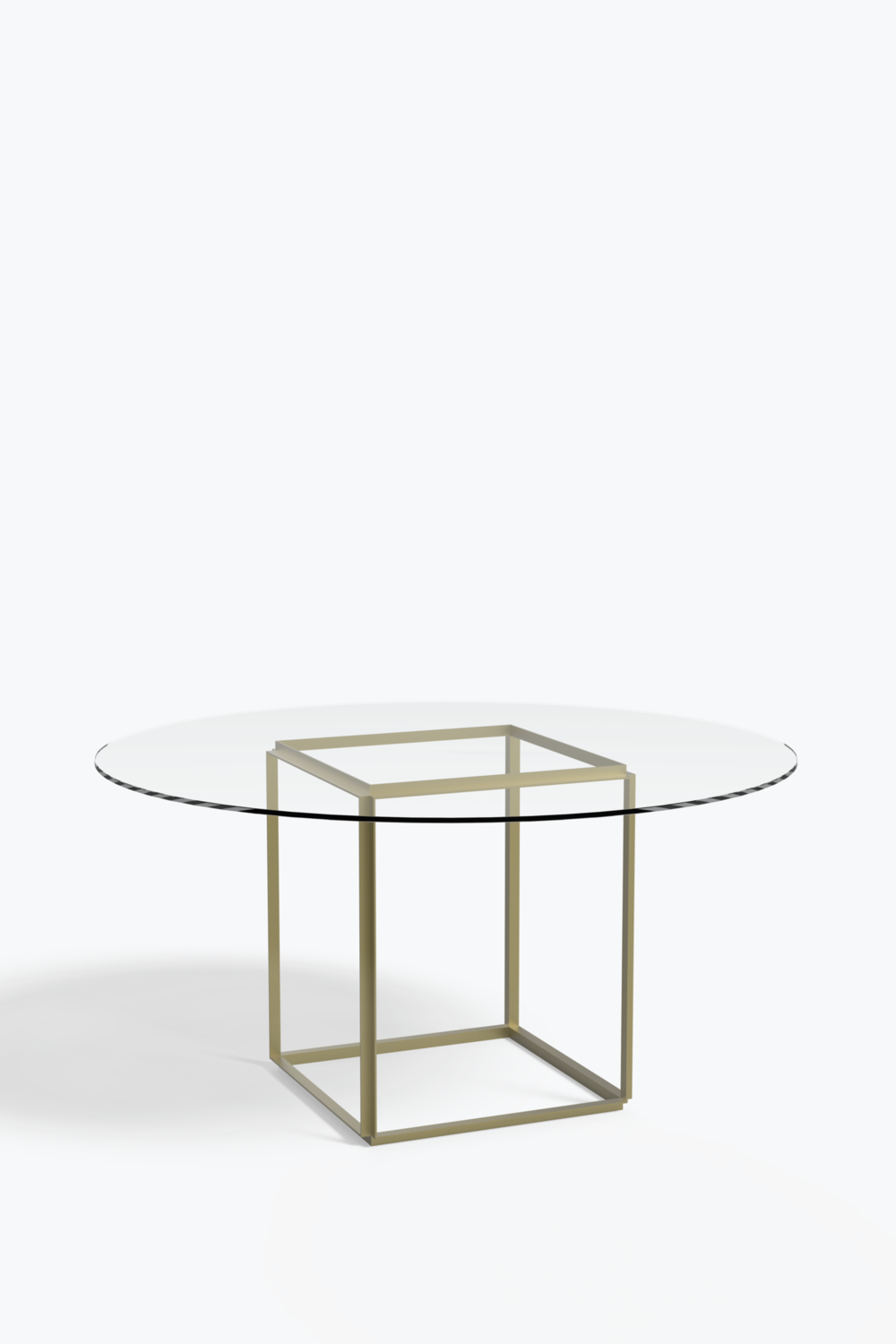 Florence Dining Table O 145 Cm W Glass Table Top New Works