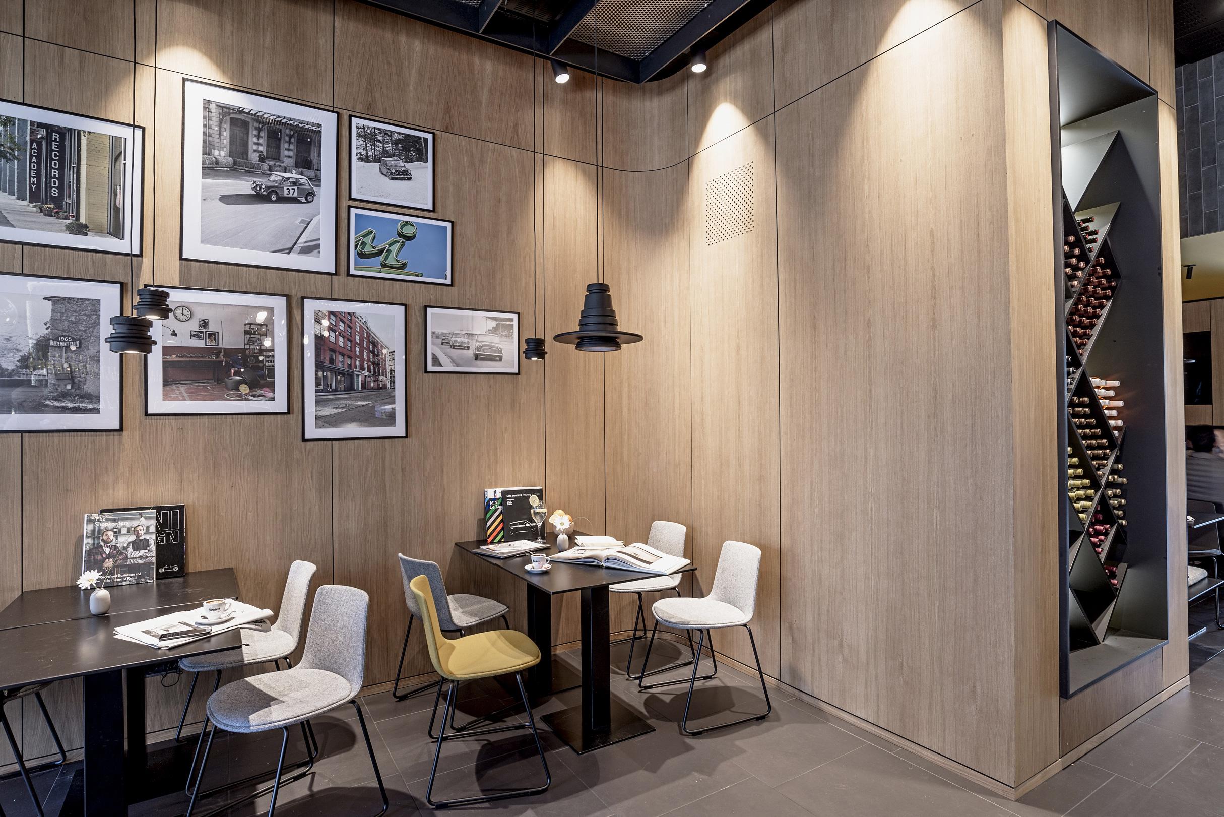 Mini Bar, Bilbao, Spain, hospitality, Liganova, Studio Alexander Fehre