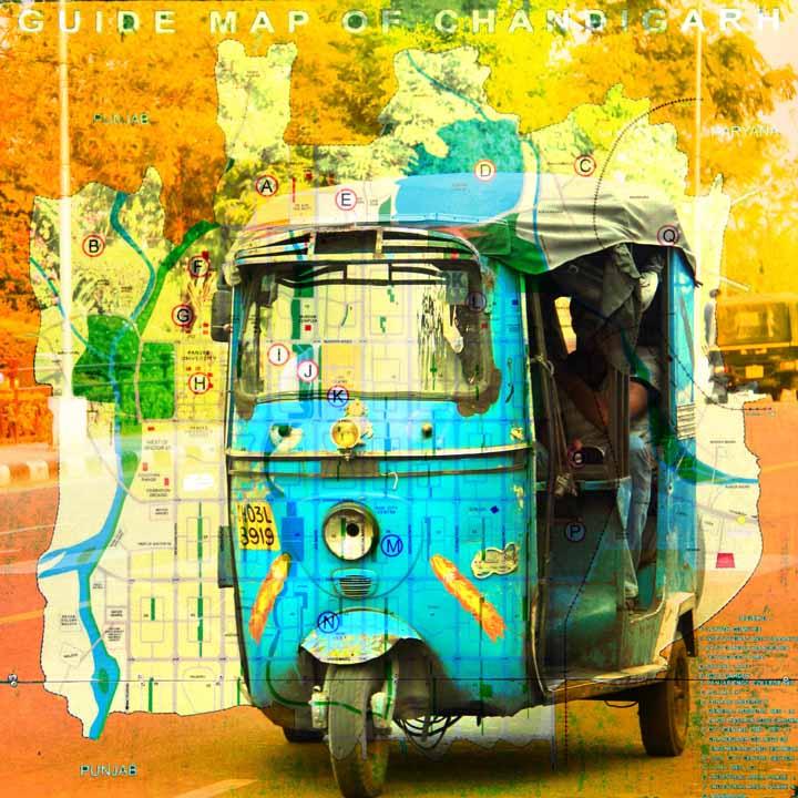 Chandigarh Auto Map