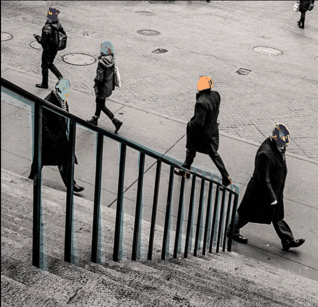 Faceless Faces of Wall St., New York, 2015