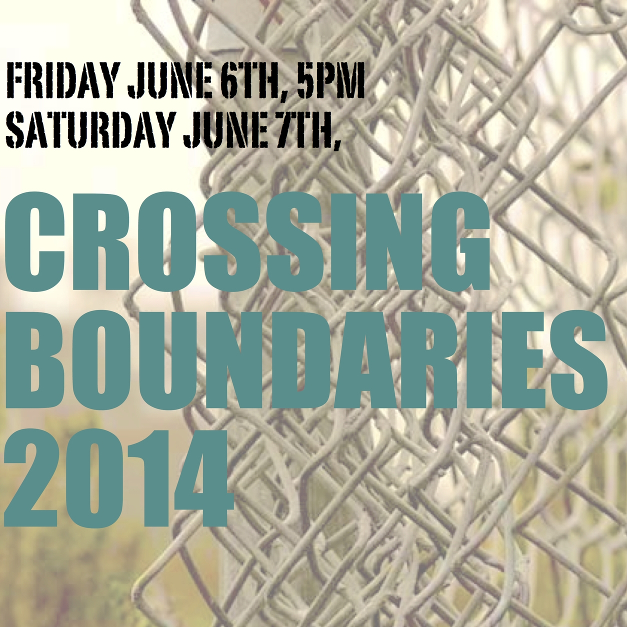 Crossing Boundaries, 2014