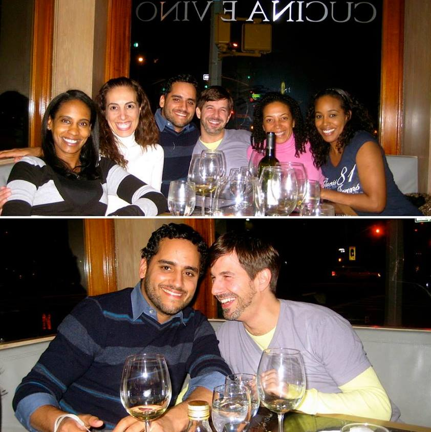 """#throwbackthursday  #2 - 2007 at Petrarca. After getting thrown into the lion's den meeting some of Tim's friends for the first time in a round of questioning, this was the night he leaned in and said, """"want to be my boyfriend?""""... after a few drinks of course."""