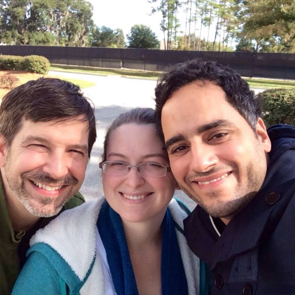 #throwbackthursday  #21 - Nov 25, 2013. Valdosta, GA. Our last pic with Natasia, the day we officially found out we were having twins! There's a video with this (but too soon for me to watch or share), but I remember while Natasia & I were freaking out a bit, Tim was excited! After a few jokes, he called it a blessing.  #rememberingtim