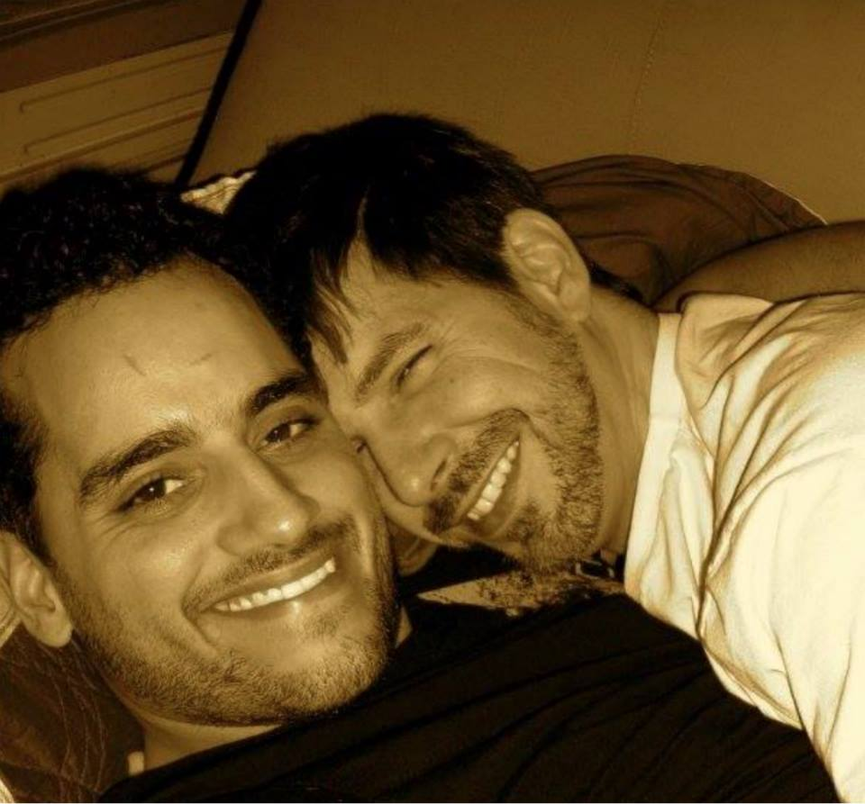 """#throwbackthursday  #32 - January 8, 2008. Our very first#selfie while hanging on the couch. It was after I took this pic he asked, """"Our relationship isn't going to be on Facebook, is it?""""  #rememberingtim"""