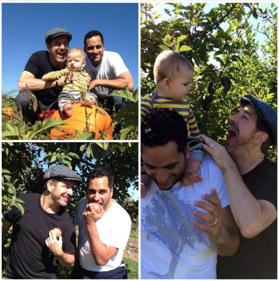 #throwbackthursday  #40 - Oct 12, 2013. This weather reminds me what Tim and I were doing a year ago. Apple & Pumpkin picking with the family.  #rememberingtim