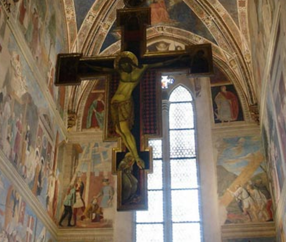 From  the Church of San Francesco  in Arezzo, Italy