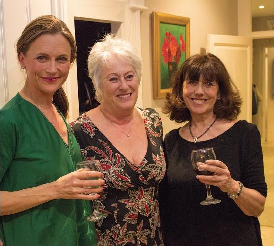 Katie Derham, Lynn Tulip & Hilary Knight
