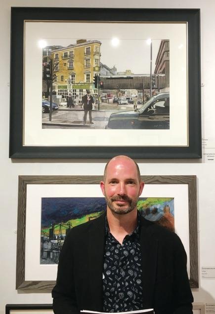 Brett Hudson, artist