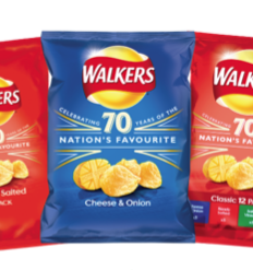 Crisp packet recycling at The Stand Up