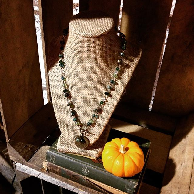 Stop by and shop some of our GOURD-geous designs! #amarisjewelry #ivam