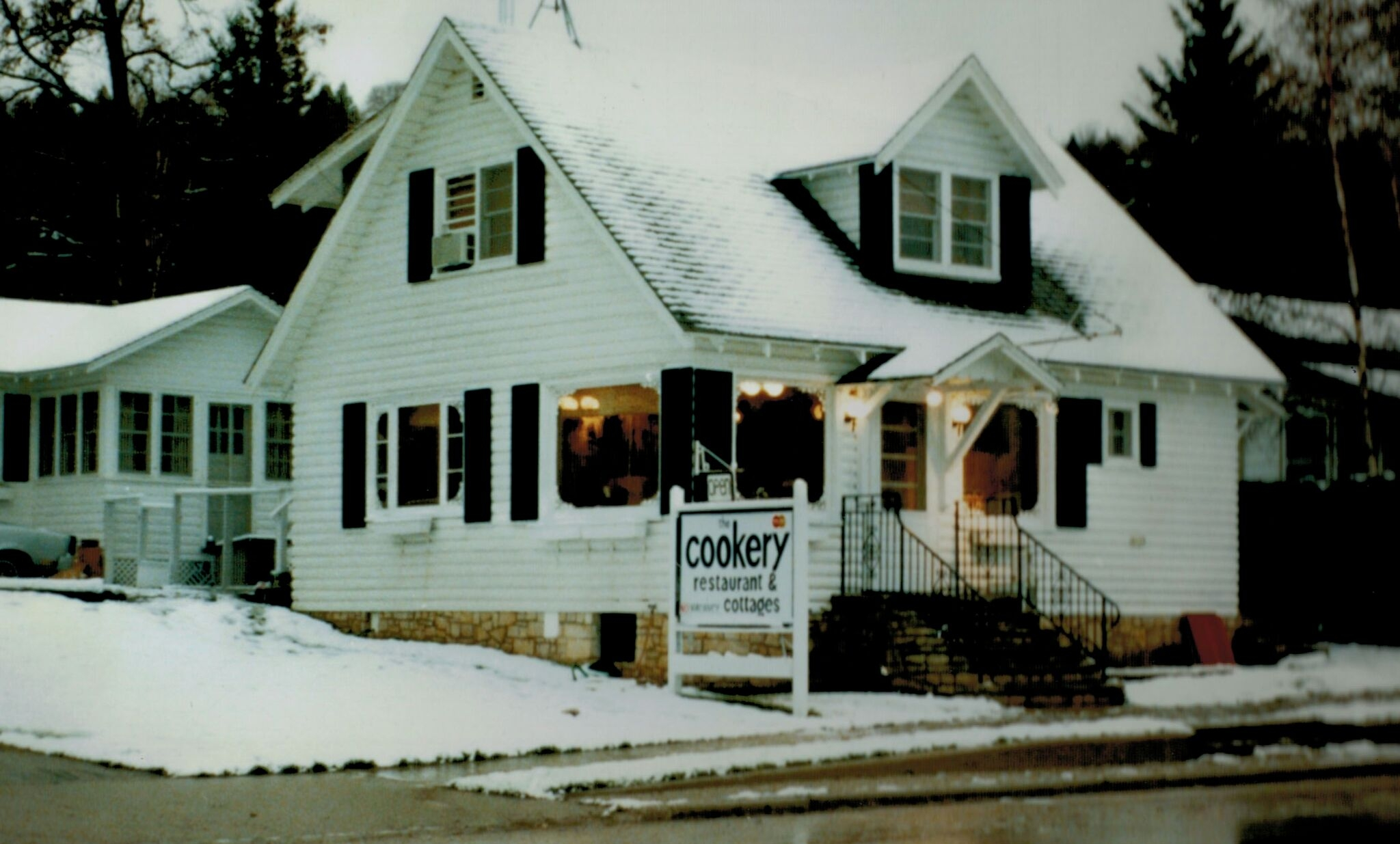 The original Cookery in winter of 1978.