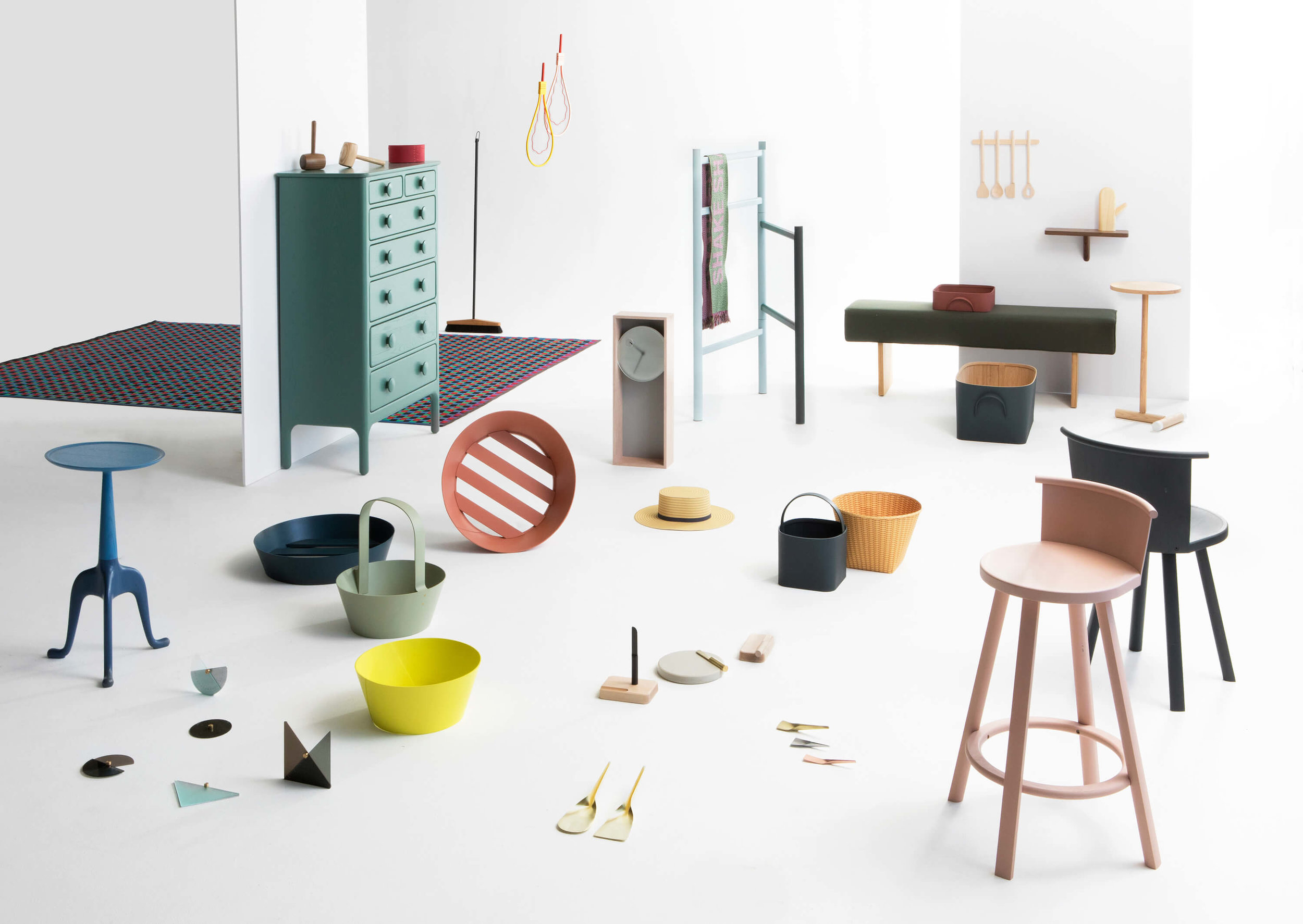 Shaker Now: Furnishing Utopia Exhibition at New York Design Week in Design Within Reach Soho Studio (May 2017)