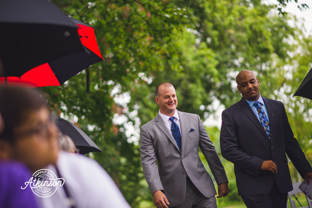 Bryan and Officiant